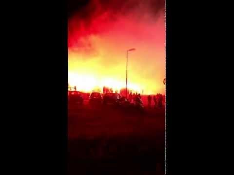 Marseille - bastia parking furiani entrée des joueurs