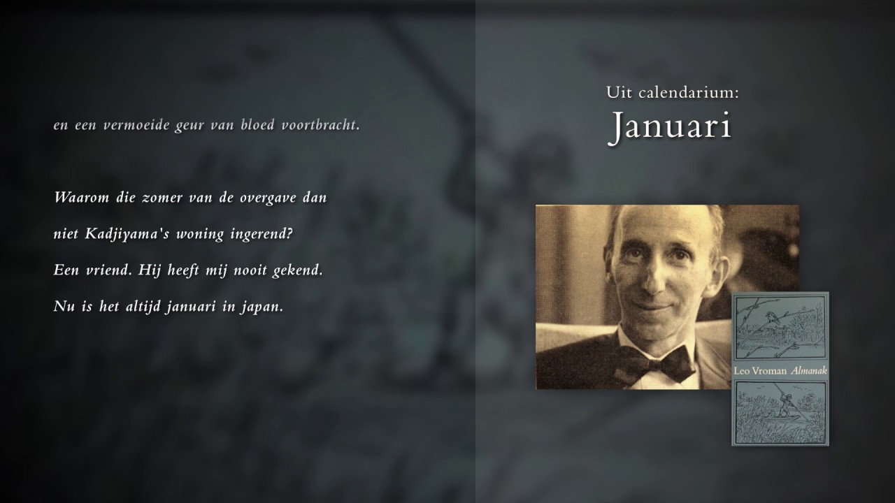 Leo Vroman Almanak 6 Gedichten Voorgedragen Door Ton Van