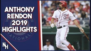 Anthony Rendon 2019 Highlights