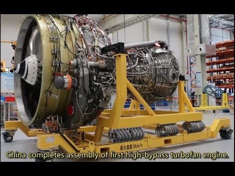 China completes assembly of first high-bypass turbofan engine CJ-1000AX  for C919