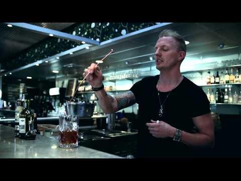Old Gold Fashion – Cocktail med Robert Sandqvist