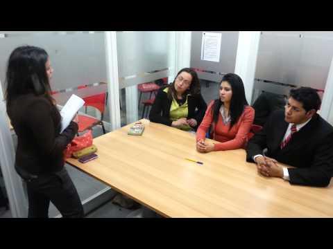 Video grupal entrevista