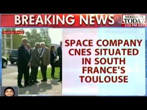 PM Modi Visits National Centre For Space Studies In France