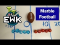 The Great Marble Football Game!
