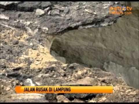 Jalan Rusak dan Marak Pungli di Lampung