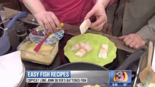How To Make Cheese And Almond Crusted Tilapia With Chef Tess
