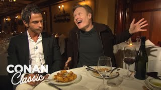 "Conan's Dinner With Jordan Part 1 - ""Late Night With Conan O'Brien"""