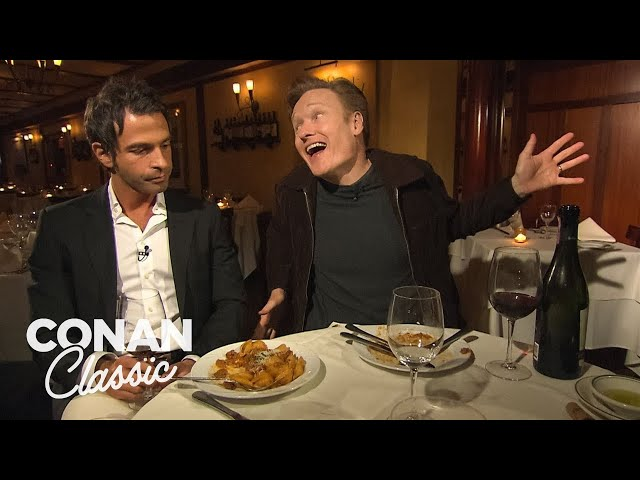 Conan's Dinner With Jordan Part 1 - Conan25: The Remotes