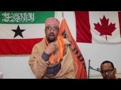 Xisbiga Waddani La'aantiisa Ottawa oo xaflad sagootin ah u qabtay Xubno u soo kicitimay Somaliland