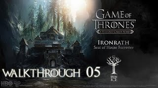 Game of Thrones Episode 1: Iron From Ice Walkthrough Part 5 ( A Lord's Judgement )