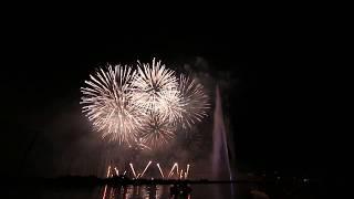 2/5 Grand Feu Pyromélodique Genève 2018 - Geneva Firework