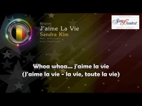 """[1986] Sandra Kim - """"J´aime La Vie"""" (Belgium)"""