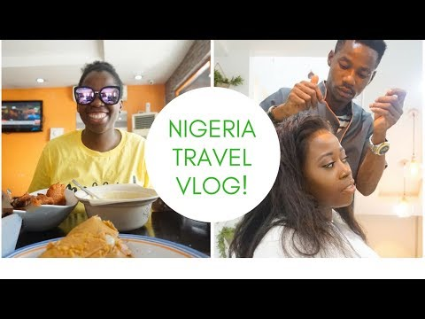 Eating Akara , moimoi and pap, getting my hair slayed  in Nigeria || Naija travel Vlog 2018 || #2