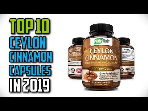10-best-ceylon-cinnamon-capsules-in-2019-reviews