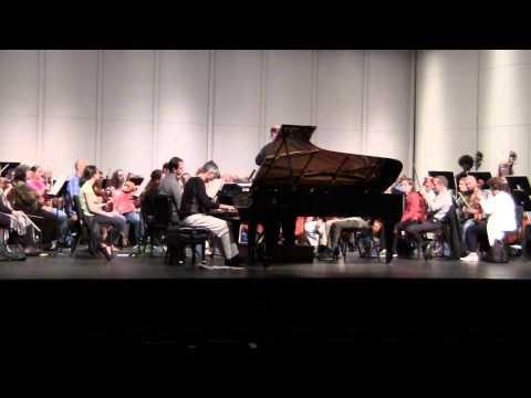 Rachmaninoff Piano Concerto No. 2 - Gregory Knight - WPS (Rehearsal - Camera 2 - Part 2)