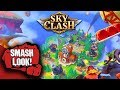 Sky Clash Lords of Clans 3D Gameplay - Smash Look!