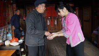 Gambar cover 重阳节又到了,农村姑娘用这样一种方式孝敬她九十岁的老爷爷