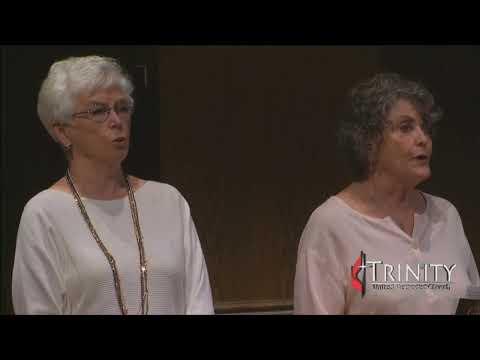Trinity UMC Traditional Worship   08-04-19