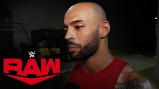 Ricochet affirms Raw is ready for NXT: Raw Exclusive, Nov. 4, 2019