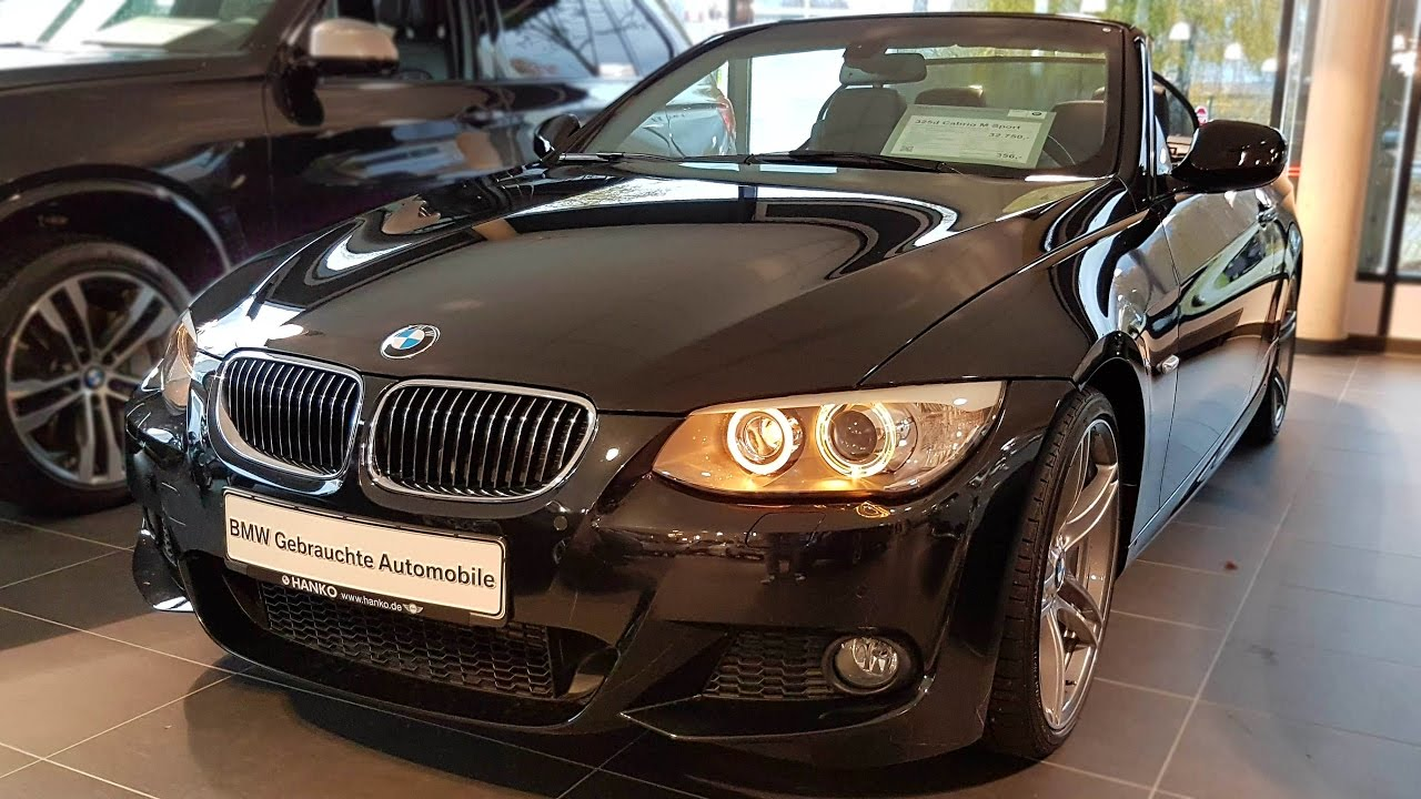 2013 bmw 325d cabrio m sport edition youtube. Black Bedroom Furniture Sets. Home Design Ideas