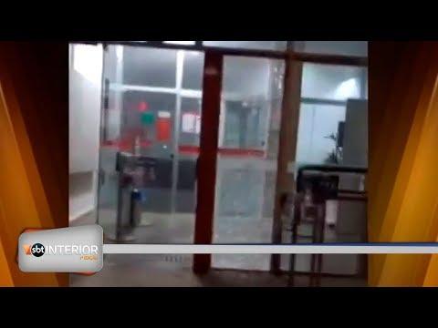 Agências bancárias são alvos de bandidos em Guaraci