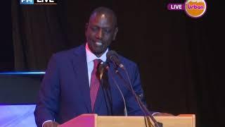 #PMLive: William Ruto given lifetime achievement Award 2018