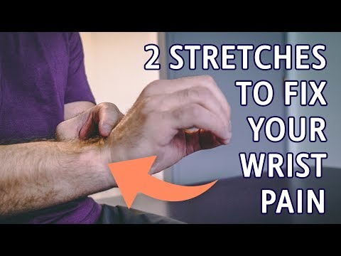 2 Stretches to Fix Your Wrist Pain