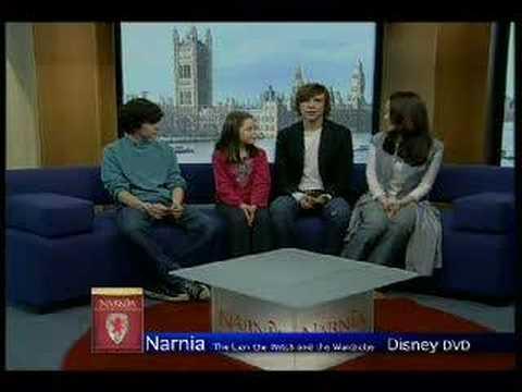 Narnia kids interview