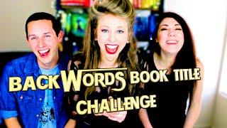 BACKWORDS BOOK TITLE CHALLENGE