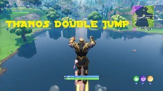 Fortnite Battle Royale | THANOS DOUBLE JUMP