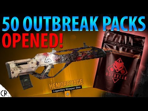All 50 Outbreak Pack Loot - Operation Chimera Outbreak - 6News - Tom Clancy's Rainbow Six