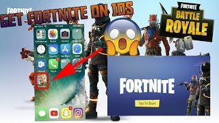 How to get FORTNITE on MOBILE devices (Ipad, Ipod, Iphone)
