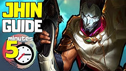 COMPLETE Jhin Guide in less than 5 minutes | League of Legends (Season 10)