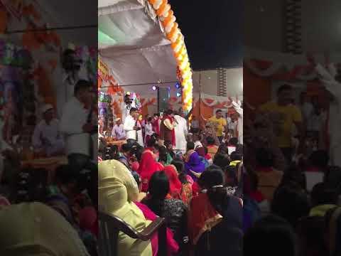 Shiv shakti sound budhlada  Kirtan at kalawali singer raju babra from agra