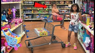 Kids Pretend Play Shopping at Toys store!! fun children video