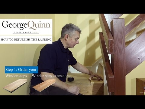 Staircase Renovation – Part 5: How to refurbish the landing area of a staircase - George Quinn