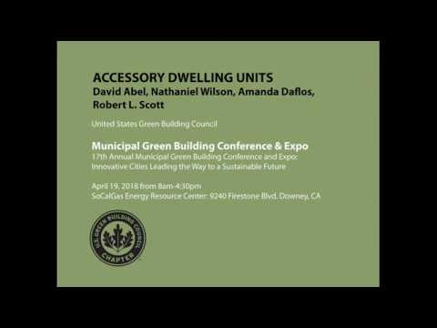 Accessory Dwelling Units US Green Building Council Downey 04 19 2018