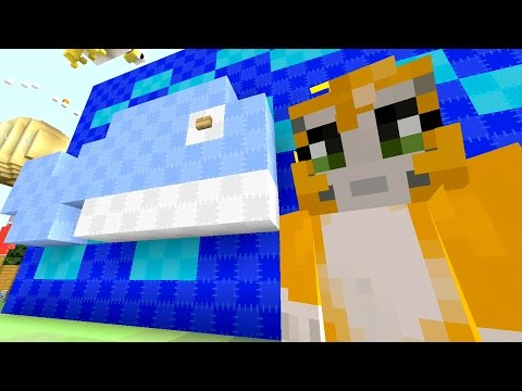 Minecraft Xbox - Quest To Build Chutes And Ladders (137)