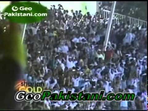Aaqib Javed 7/37 vs India, Sharjah