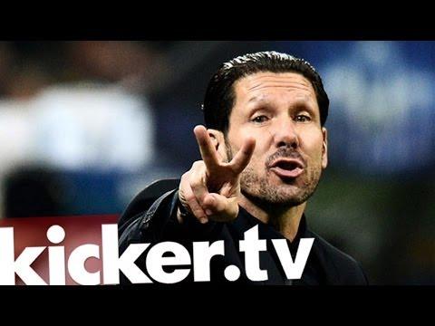 Atletico Madrid - Diego Simeone - Bei Atlético ist der Trainer der Star - kicker.tv