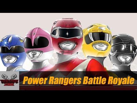 POWER RANGERS BATTLE ROYALE | DEATH BATTLE Cast