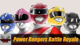 POWER RANGERS BATTLE ROYALE | DEATH BATTLE Cast thumbnail