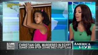 Repeat youtube video Egypt : Christian girl gets murdered by Muslim Brotherhood after leaving Bible Study (Aug 13, 2013)