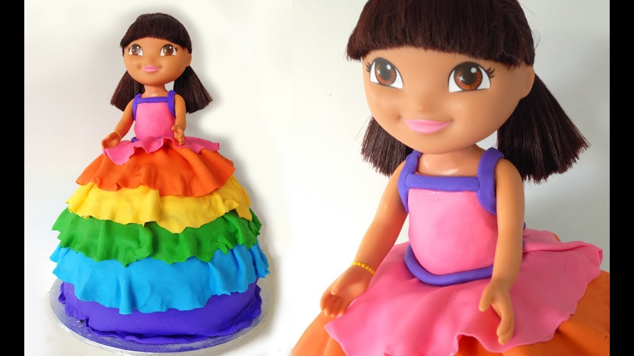 Dora Birthday Cake HOW TO COOK THAT Dora The Explorer YouTube