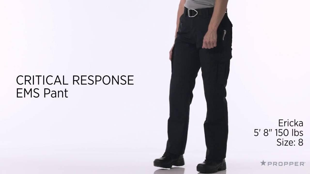 Propper® Women s CRITICALRESPONSE EMS Pant - YouTube d500ace533a