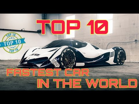 TOP 10 WORLD FASTEST CAR🚘2021