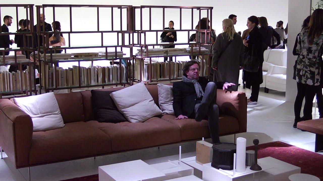 Living divani salone del mobile 2013 youtube - Fiera del mobile padova ...