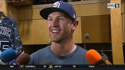 Nick Margevicius after his MLB debut: 'It was incredible'