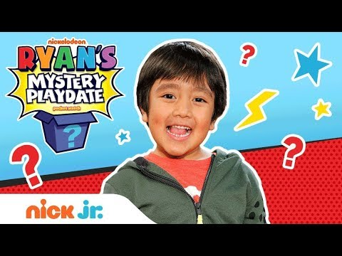 Ryan is Coming to Nick Jr.! | Trailer & BTS | Ryan's Mystery Playdate