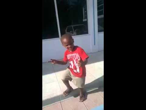 Little boy dancing  Jab Jab Skank thumbnail